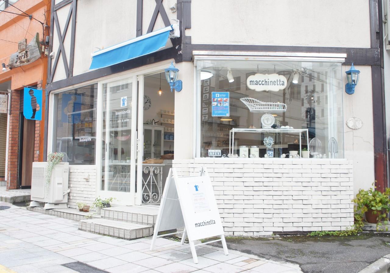 【閉店・移転】macchinetta cafe&zakka