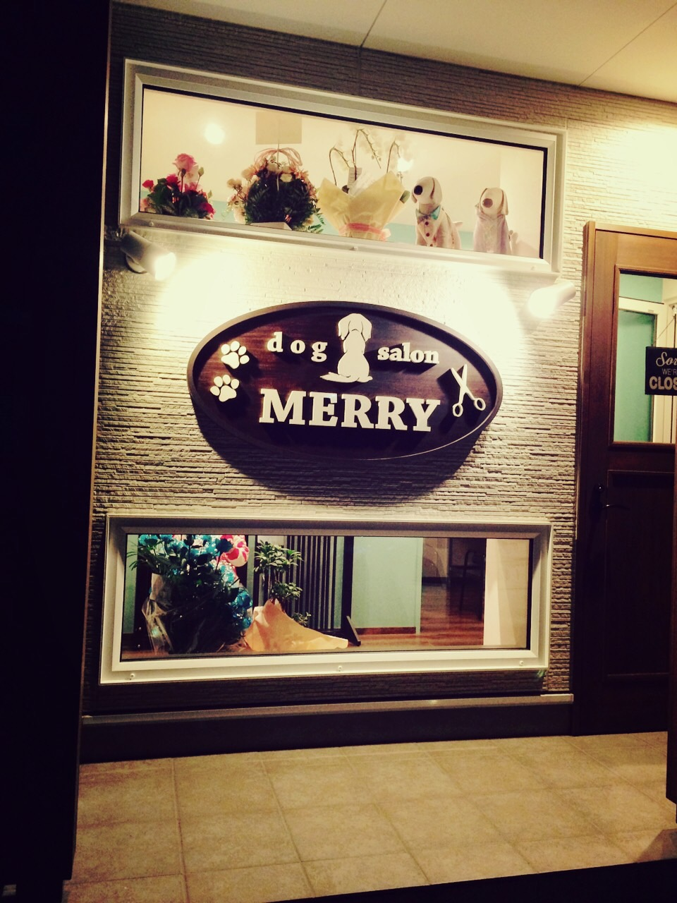 dog salon MERRY
