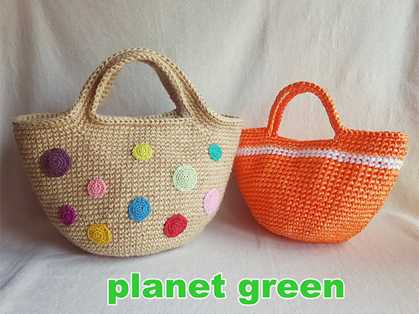 麻ひもバッグ屋 planet green